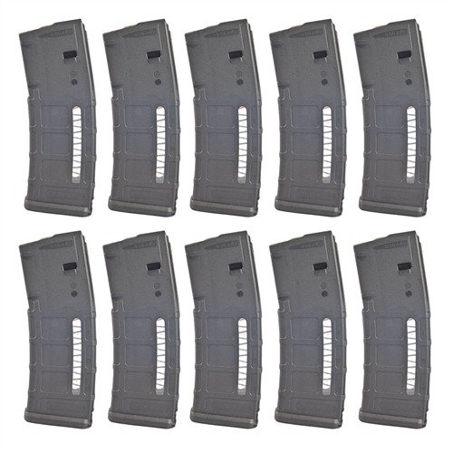 30-Round MagLevel PMAG, 10-Pack, Black