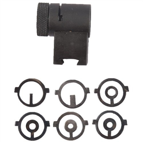 "1.125"" Globe Aperture Front Sight Steel Black"