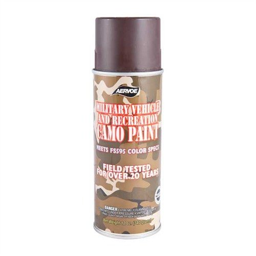 Camo Paint, Earth Brown