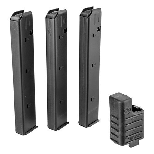 9mm AR-15 32 Round Magazine 3 Pack & Loader
