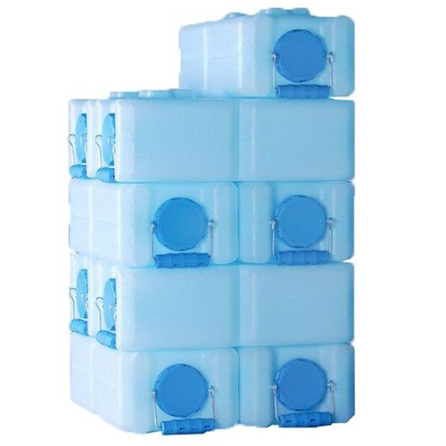 3.5 Gallon-Blue-10 Pack