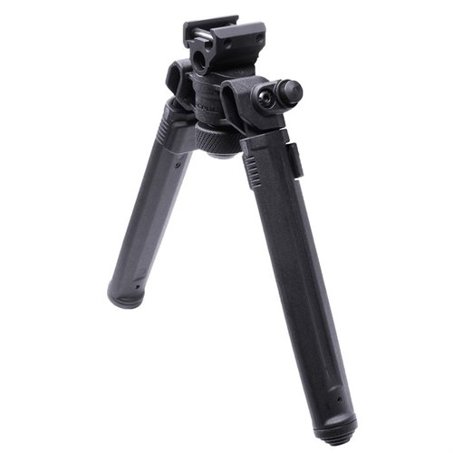 "1913 Picatinny Rail Bipod Black 6.3""-10.3"""
