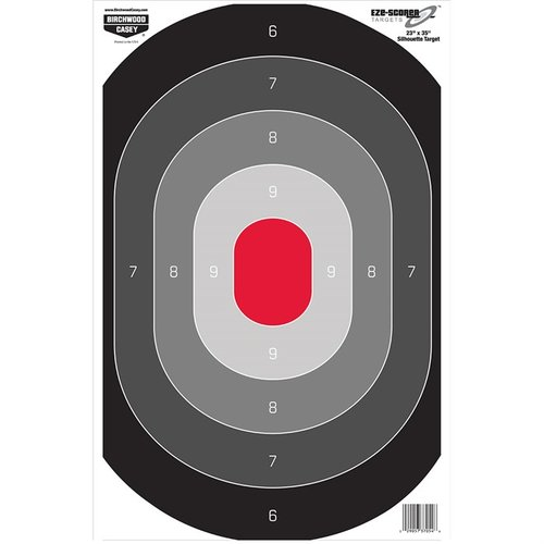 "Eze-Scorer 23""x35"" Oval Silhouette Target-5 Pack"