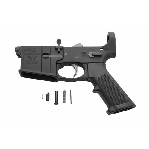 AR-15 Lower Receiver with Installed Lower Parts Kit