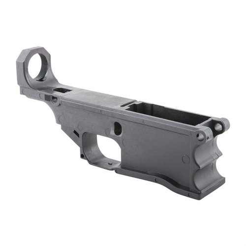 AR 308 Lower Receiver with Jig Kit Polymer Black