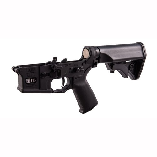 Lower Receiver Complete Ambidextrous Blk