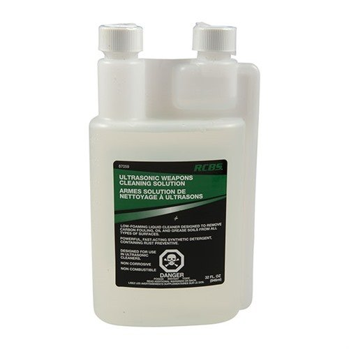 Ultrasonic Gun Cleaning Solution, 32 oz.