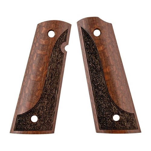 1911 Exotic wood grip made from Leopardwood