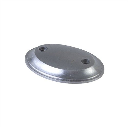 2-Screw Grip Cap Unfinished Steel