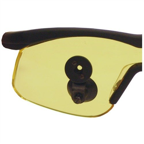 Yellow Optical Attachment Shooting Glasses Black