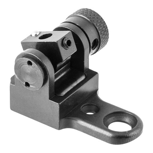 Rifle Base For Improved Tang sight Black