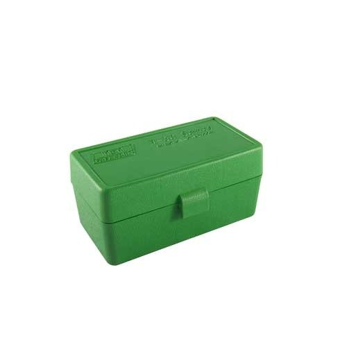 Ammo Boxes Rifle Green 22 Benchrest Rem- 353 Remington 50