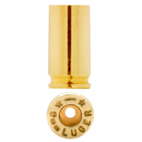 9mm Luger Brass 100/Bag