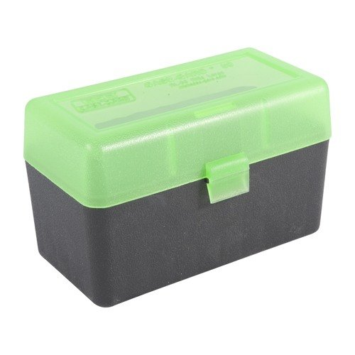Ammo Boxes Rifle Green & Black 30-06 Springfield 50