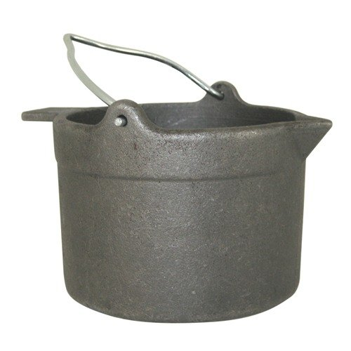10 lb Cast Iron Lead Pot
